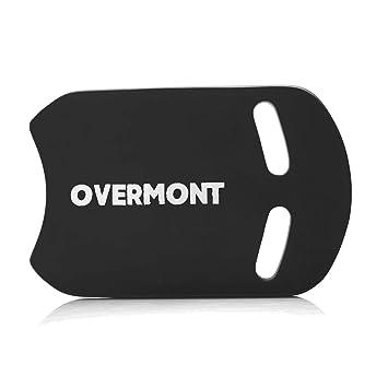 Overmont Kick Board Tabla de Natación Flotador Natación Aprender a Nadar Piscina Formación Deportes Acuáticos para Adultos, Niños Color Negro Azul: ...