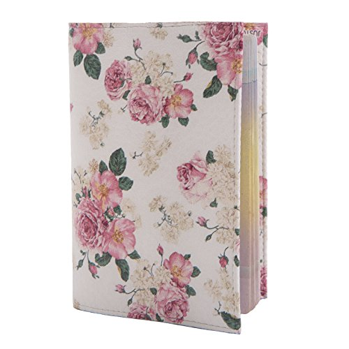ECO Leather passport cover! Cute passport holder for travel! Designer passport case for men and women! ECO leather passport cover best gift for journey! (bouquet)