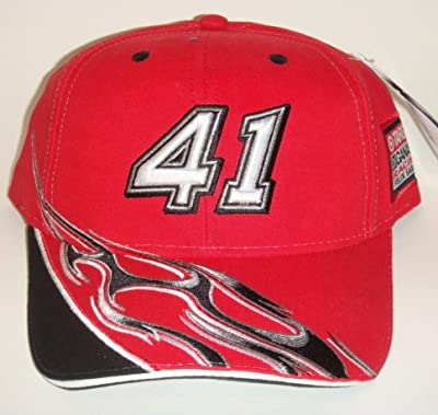 NASCAR #41 Reed Sorenson Target Flame Adjustable Pit Cap by Chase Authentics