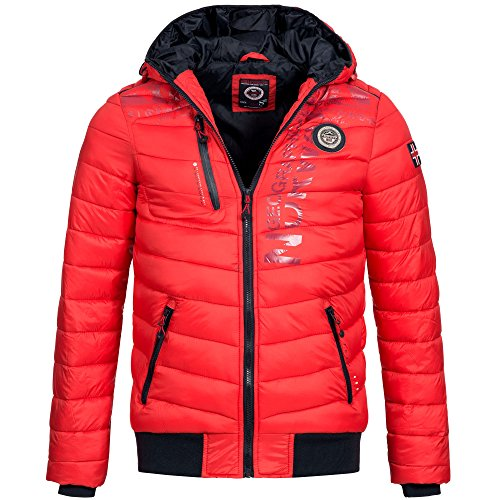 Geographical Homme Geographical Norway Blouson Norway Rouge Blouson rqPErg