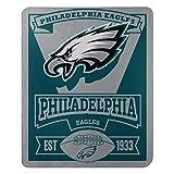 "NFL Philadelphia Eagles ""Marque"" Fleece Throw"