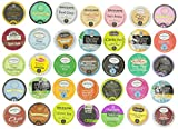 Crazy Cups Tea Sampler, Single-Cup Tea for Keurig K-Cup Brewers, Pack of 35
