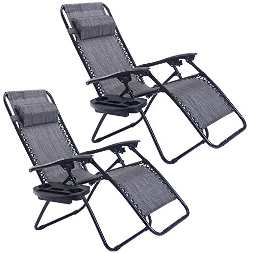 Goplus Gravity Folding Recliner Outdoor product image