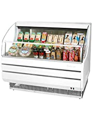 Turbo Air TOM40S 39 Open Display Merchandiser with Modern Design Environmental Friendly Refrigeration System Glass Sides Anti-Rust Coating High Density PU Insulation and Improved Air Flow: