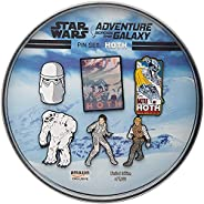 Star Wars: Hoth Metal-Based and Enamel 6 Lapel Pin Set with Officially Licensed 16cm Circular Window Box with