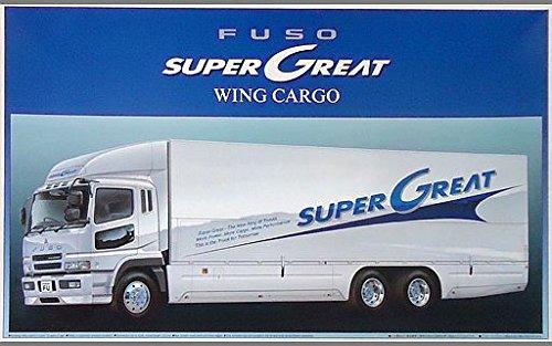 アオシマ 1/32 三菱ふそう スーパーグレート ウイングカーゴ 0021422の商品画像