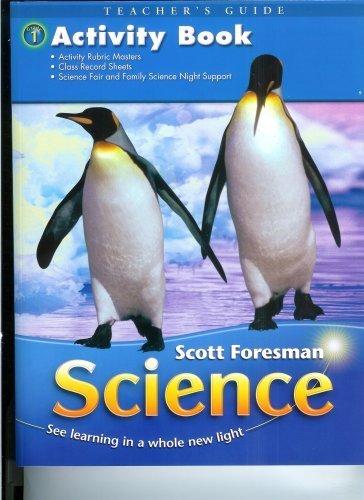 Activity Book Teacher S Guide Scott Foresman Science First Grade Michael P Klentschy 9780328126163 Amazon Com Books
