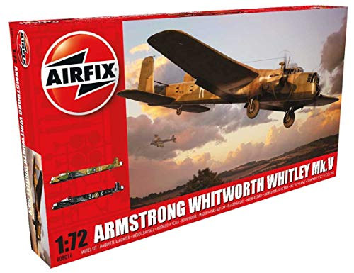 Airfix WWII Armstrong Whitworth Whitley Mk.V Plastic Model Kit (1:72nd -
