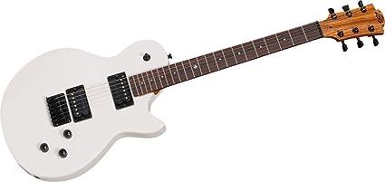 Guitarra electrica lag imperator 66 ivory