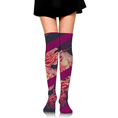 Amazon com: Rose Glitches Compression Socks For Men & Women - BEST