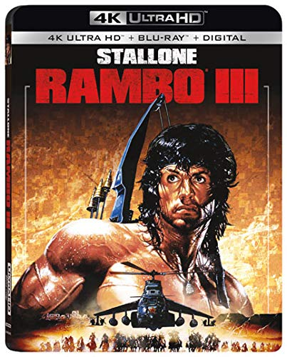 4K Blu-ray : Rambo Iii (With Blu-ray, 4K Mastering, Digital Copy, 2 Pack)