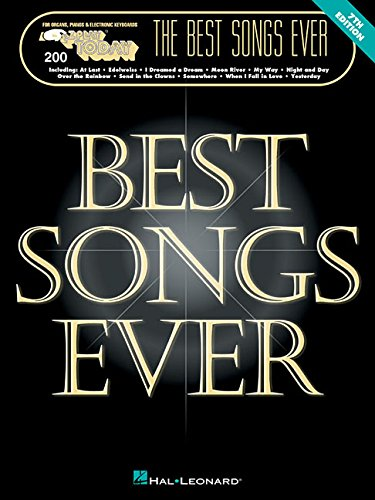 The Best Songs Ever (E-Z Play Today 200) (Today Play Piano Songbook)