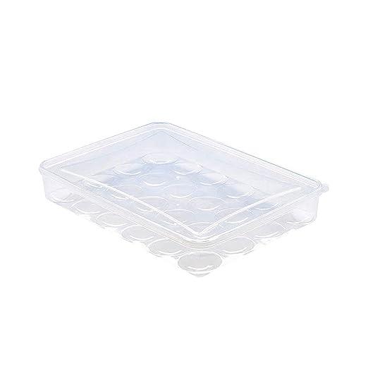 Toyvian Caja de Almacenamiento de Huevos con Tapa Nevera ...