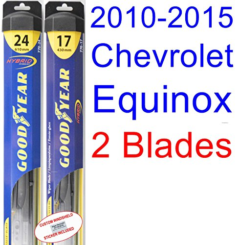 Check Expert Advices For Equinox Wipers?