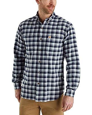 Carhartt Men's Rugged Flex Hamilton Plaid Shirt