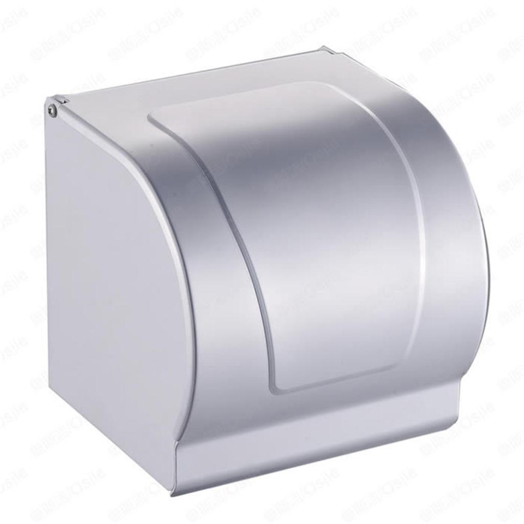 trre-toilet per carta/scatole di tessuto in alluminio spazio/Portarotolo/porta asciugamani di carta completamente chiusa/Impermeabile e Antipolvere TRRE UK