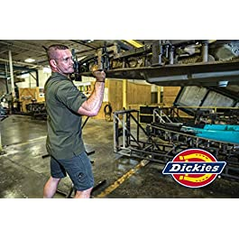 Dickies Men's Dri-tech Moisture Control Quarter Socks Multipack