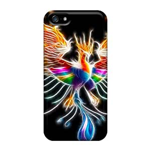 Fashionable Design Colorful Phoenix Rugged For SamSung Galaxy S4 Mini Phone Case Cover New