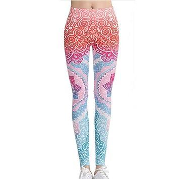Pantalones De Yoga Pantalones De Yoga Imprime Slim Mujer ...