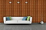BDPP Washable Vinyl Coated Imported Mettalic Wallpaper-W401(Covers approximately 50 square. Feet.)
