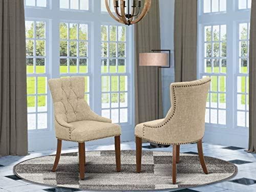 East West Furniture Luxury Friona parsons dining chair