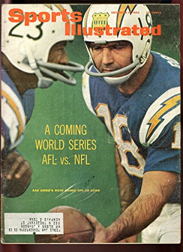 - SI: Sports Illustrated December 16, 1963 San Diego Chargers' Paul Lowe GOOD