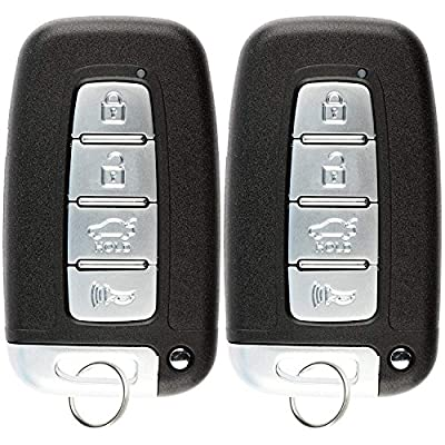 KeylessOption Keyless Entry Remote Smart Car Key Fob for Hyundai Kia 95440-3X200, SY5HMFNA04 (Pack of 2): Automotive