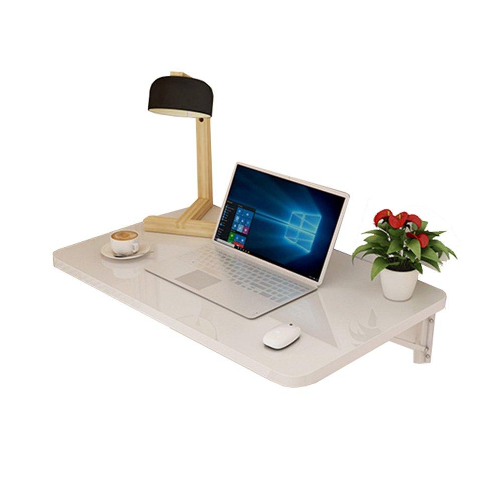 LXLAコンピュータスタディデスクウォールマウント折りたたみテーブルキッチンダイニングオーガナイザー子供の壁ドロップリーフワークステーションホワイト (サイズ さいず : 60×50cm) B07DW4S6YW 60×50cm 60×50cm