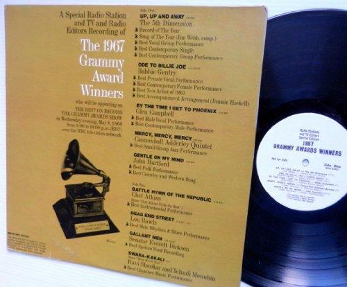 TV and Radio Editors Recording of 1967 Grammy Award Winners LP