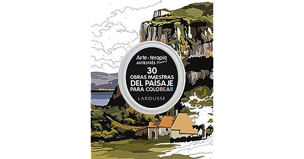 Arte-terapia 30 obras maestras del paisaje para colorear: VV.AA ...