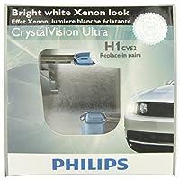 Philips H1 CrystalVision Ultra Upgrade bombilla para faros (paquete de 2)