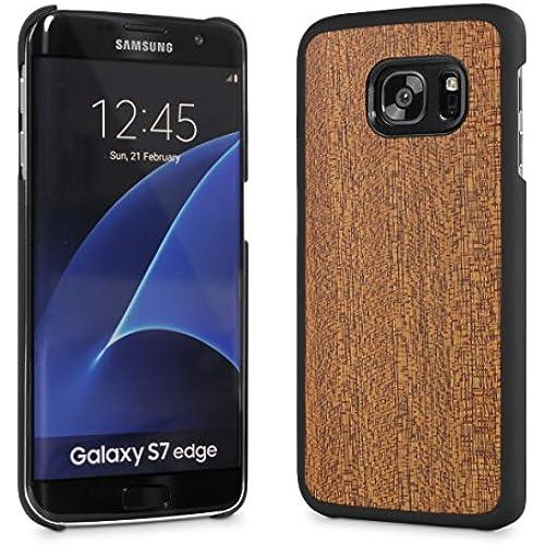 Cover-Up #WoodBack Real Wood Snap Case for Samsung Galaxy S7 Edge - Mahogany Sales