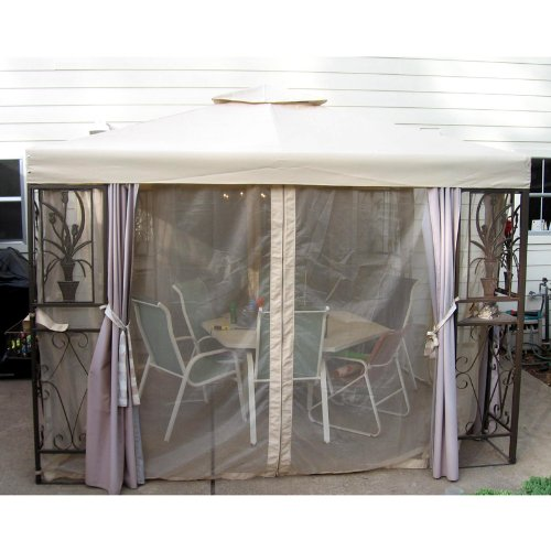 Garden Winds Tulip Design Gazebo Replacement Canopy Top