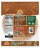 Mission Organics Whole Wheat Tortillas, Non