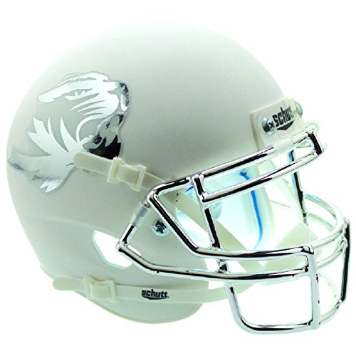 Missouri Tigers Matte White Officially Licensed Full Size XP Replica Football Helmet
