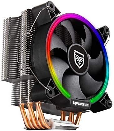 Nfortec centaurus refrigeración argb para Torre de Ordenador Compatible con controladora RGB y Fabricada con 5 tuberías de Cobre Puro.: Amazon.es: Informática