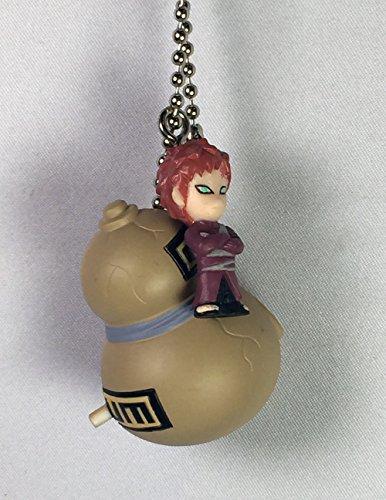 Gaara & Gourd - Naruto Rin Rin Keychain Mascot Figure with Bell