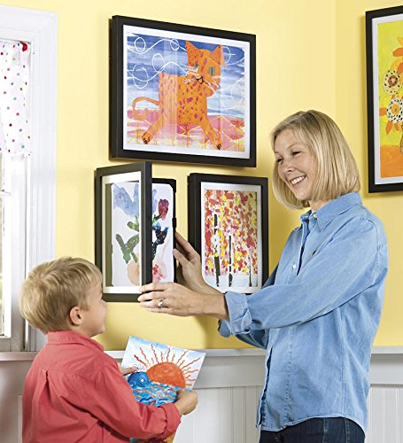 (Child Artwork Frame - Display Cabinet Frames And Stores Your Child's Masterpieces - 8.5