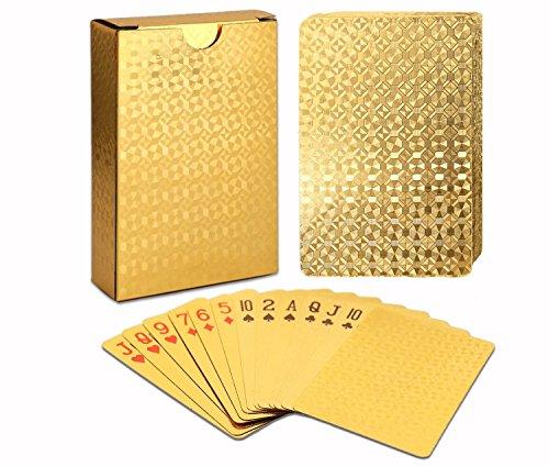 Luxury Poker Playing Cards Baralho