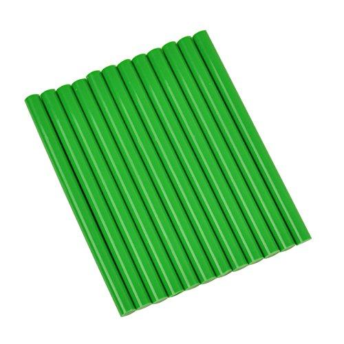 """Price comparison product image Green Colored Glue Sticks mini X 4"""" 12 sticks"""