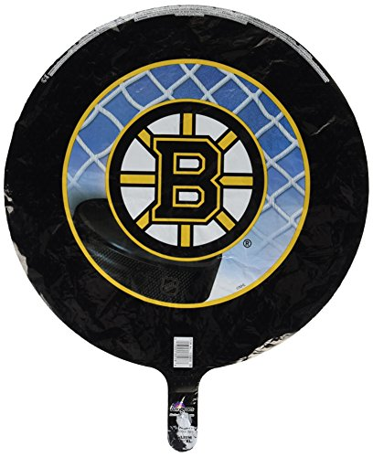 Anagram International Boston Bruins Foil Flat Party Balloons, 18