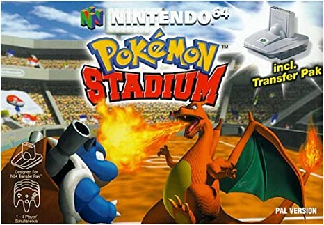 Image result for pokemon stadium pokemon list