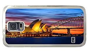 Hipster Samsung Galaxy S5 Case customized covers opera house australia PC Transparent for Samsung S5