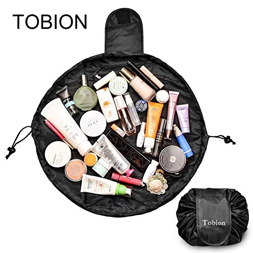 7fd7451e2864 Lazy Portable Makeup Bag Large Capacity Waterproof Drawstring - Import It  All