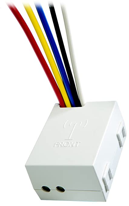 Peachy Leviton Wsp12 20 5 Wire Relay Receiver 277V White Wall Dimmer Wiring Digital Resources Talizslowmaporg