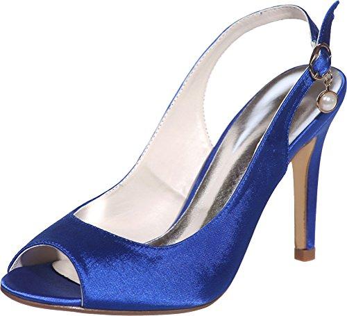 Find 36 Bleu Mules Nice Femme 5 Bleu 6wq6v7r