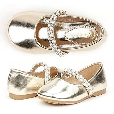 Dream Pairs SERENA-100 Mary Jane Casual Slip On Ballerina Flat Toddler New