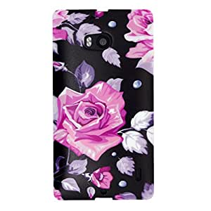 Us-Trendsss TPU Soft Cover Printed Case for Nokia Lumia929 ( Pink Rose )