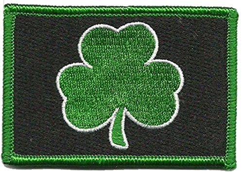 Subdued Irish Tactical Patch (Black & Green)