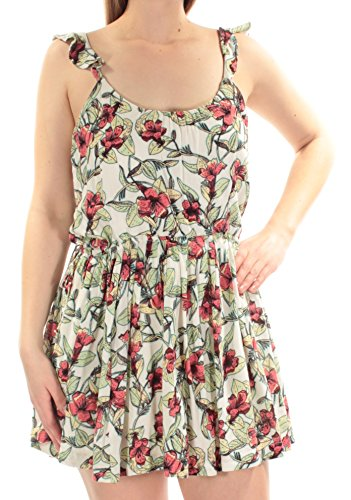Free People Womens Dear You Floral Print Sleeveless Sundress Beige S from Free People